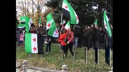 Сирийската общност у нас изрази благодарност към България и Ес за подкрепата на Обединена опо