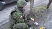 Lithuania: Security forces shut down 'violent protests' in Iron Wolf military drills