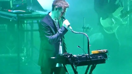 Massive Attack - Inertia Creeps - Live in Sofia, 2014