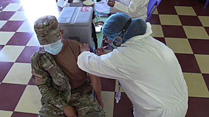 Peru: Military members receive COVID vaccine as mass inoculation campaign kicks off