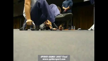 Spider Games 2007 Final part 2