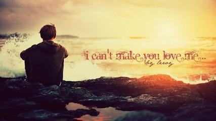 Не можеш да накараш сърцето си да усеща нещо, което не може..
