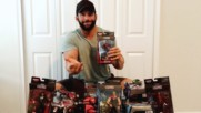 Zack Daddy gets a ton of Hasbro Marvel Legends: WWE Unboxed with Zack Ryder
