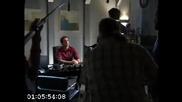 Chuck, Season 3 Finale, Зад кадър последни сцени