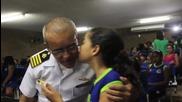Brazil: Navy informs school kids how to avoid Zika virus