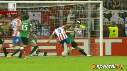 Изумителен Фалкао Атлетико Мадрид - Атлетик Билбао 3:0 Лига Европа Финал