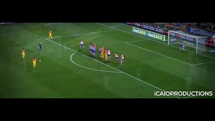 Lionel Messi ● All 18 Free Kick Goals in Barcelona