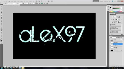 Speed Art: Very Cool Photoshop Text by: alexchy97