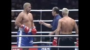 K-1 World Grand Prix 2001 Полу-финал Mark Hunt vs Stefan Leko