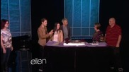Смях!!! Megan Mullally прави серенада на Джъстин ;дд