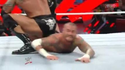Royal Rumble 2013: The Rock vs. Cm Punk