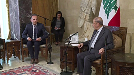 Lebanon: German FM Maas meets with Pres. Aoun in wake of Beirut blasts