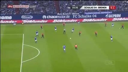 Schalke 04 2 - 1 Werder Bremen