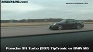 Porsche 911 Turbo 997 Tiptronic vs Bmw M6