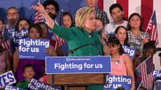 USA: Clinton launches attack on Trump at Fresno rally