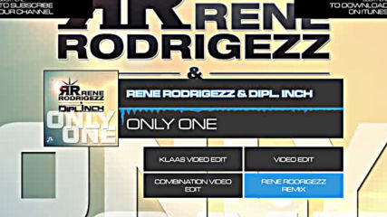 Rene Rodrigezz - Only One ( mix )