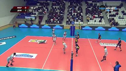 Репортажи от 14-тия и 15-тия кръг на волейболната Суперлига