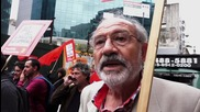Argentina: Protesters rally in support of TeleSUR in Buenos Aires