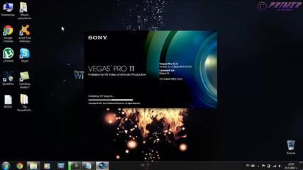 Как да си направим професионално интро със Sony Vegas Pro [hd 720p]