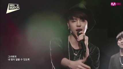Бг превод! Team B- Wait for me ( Mnet Mix & Match ) ( Високо качество )