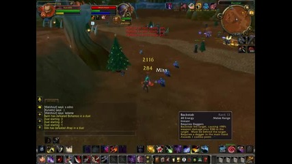 Sub Rogue vs Frost Mage