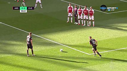 Арсенал - Евертън 0:0 /първо полувреме/