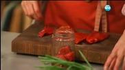 Печени филийки с шунка и пармезан - Бон Апети (01.01.2016)