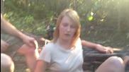 White Girl Trippin' Balls On Salvia !