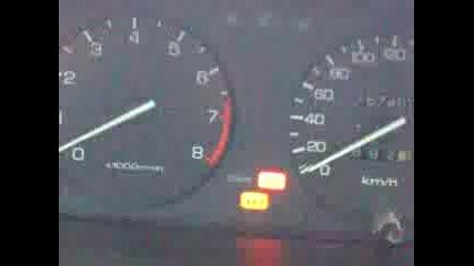 Палене при - 23 градуса, хонда сивик