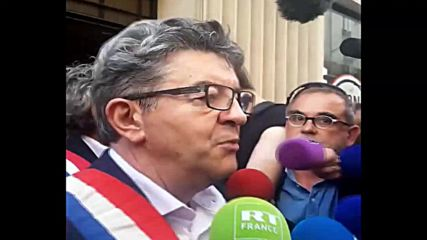 France: Unbowed France head Melenchon says armed police raided home
