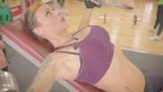 Как да стегнем гърдите и гърба