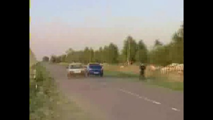 Лада бие Subaru Impreza STI