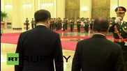 China: Xi Jinping receives Hollande in his two-day official visit to China
