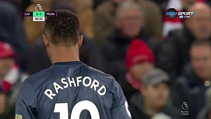 Ливърпул - Манчестър Юнайтед 1:1 /първо полувреме/
