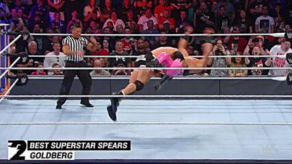 Best Superstar Spears: WWE Top 10, Nov. 25, 2020