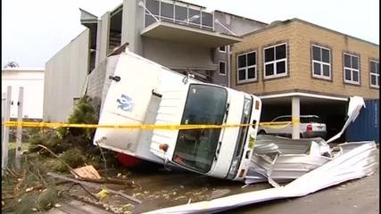 Торнадо връхлетя Сидни