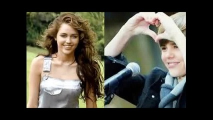Justin and Miley= Jiley