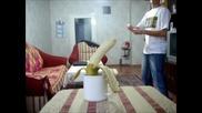 Рязане на банан с карта #2