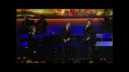 *превод* Michael Buble and Blake Shelton - Home ( Live) Hd
