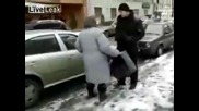 Бой без правила - Баба vs Аларми