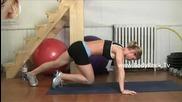 Фитнес интрукторка със страхотно тяло!