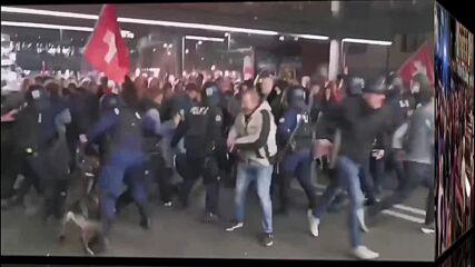Швейцария - протести срещу Новия Световен Ред - Тиранията На Постхуманизма - 18.10.2021.mp4