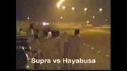 Toyota Supra Vs Hayabusa