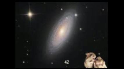 Вселената ( Пътеводител на галактическия стопаджия - откъси )