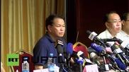 """Китай: Замърсяването след взрива в Тиендзин """"не е много над стандартното ниво"""""""