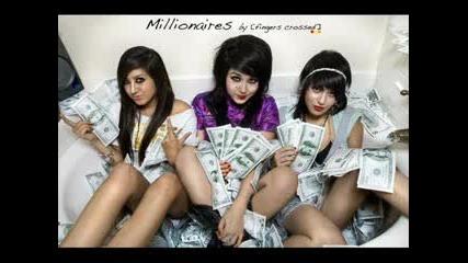 (with Lyrics) Millionaires - Up in my bubble [millionaires pics]