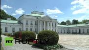 Poland: Republican hopeful Jeb Bush meets Komorowski in Warsaw
