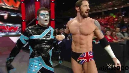 Neville vs King Barrett: Wwe Първична сила 10.08.2015