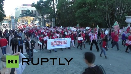 USA: Million Student March shuts down UC Berkley campus