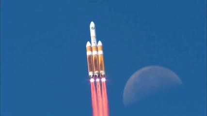 Космическият кораб Орион: първи полет